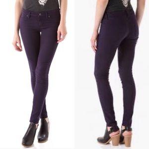 RICH & SKINNY Legacy Purple Skinny Jeans Sz 25/ 0
